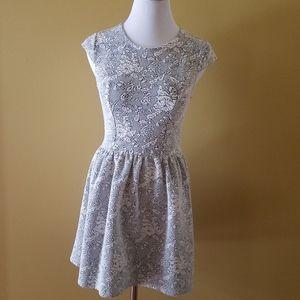 TOPSHOP floral stretchy dress